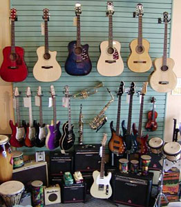 Music Store Instruments