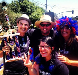 Alameda Fourth of July Parade Third Place Float Winners