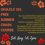 Ukulele 101: Summer Crash Course for free! (valued at $39)