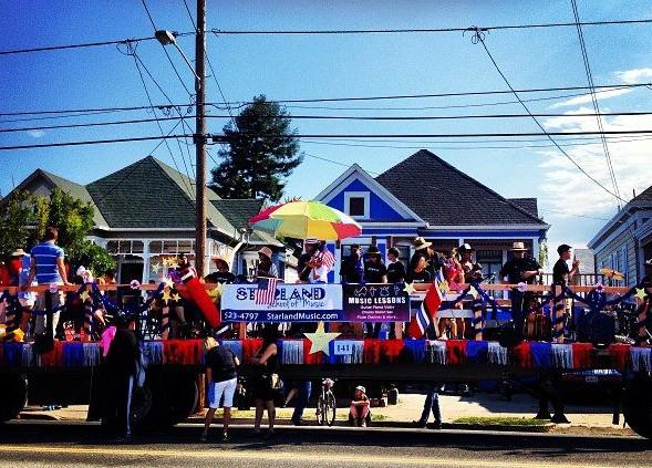 Alameda Starland School of Music Parade Float 2013